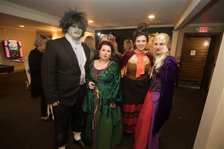 Thirteen East Aurora bars participated in this sold-out fundraising Halloween-themed bar crawl - Crawl-O-Ween - which backed the Buffalo Autism Project, on Saturday, Oct. 20, 2018. Stops included a check-in at the American Grille, plus longer stays at Griffon Gastropub, Wallenwein's Hotel and Riley Street Station.