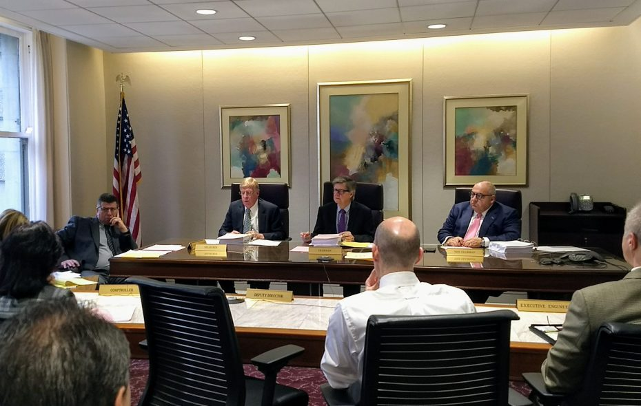 ECWA board has settled on  the chief financial officer of an environmental consulting firm as the front-runner to become executive director of the Erie County Water Authority.  (Sandra Tan/Buffalo News)