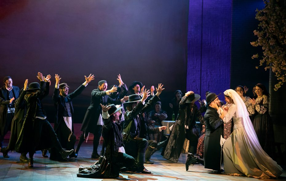"A touring production of ""Fiddler on the Roof"" is now on stage at Shea's Buffalo Theatre. (Photo by Joan Marcus)"