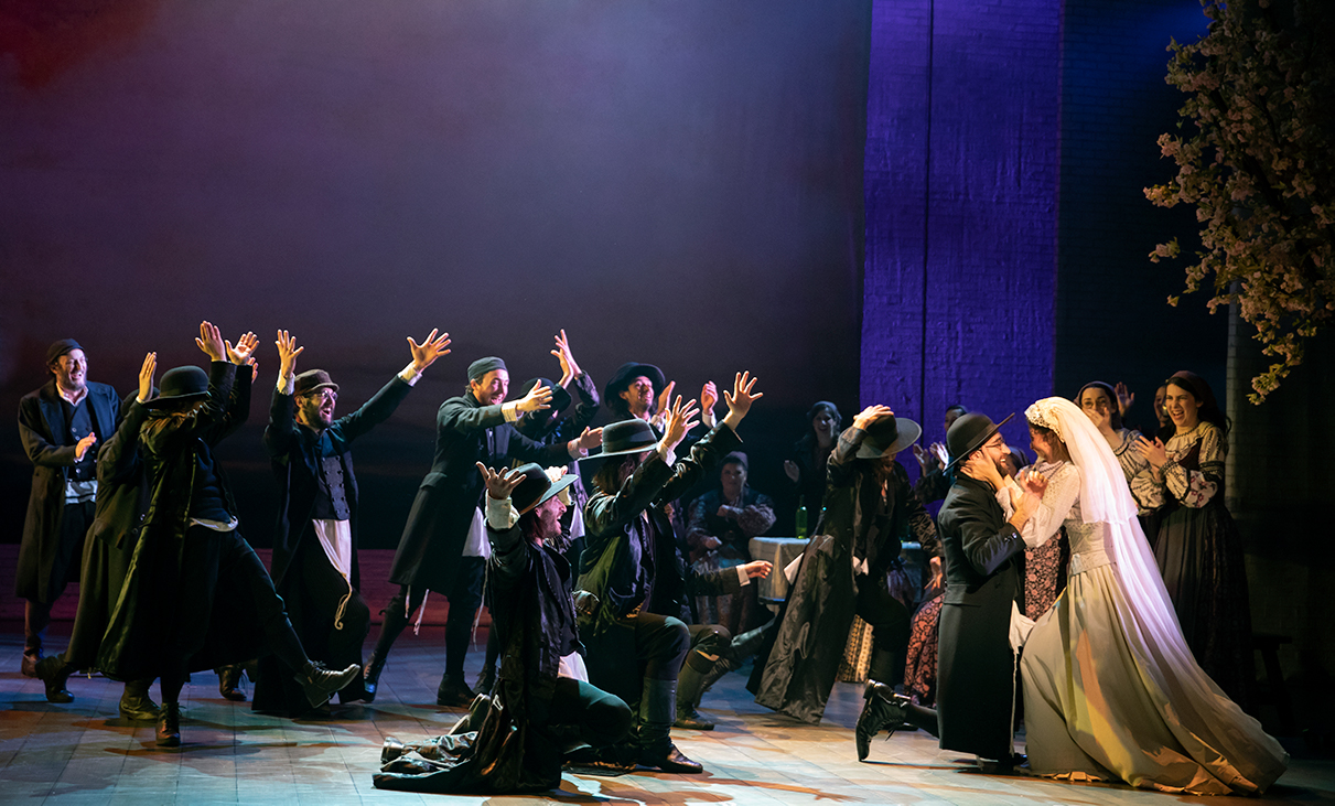 A touring production of 'Fiddler on the Roof' is now on stage at Shea's Buffalo Theatre. (Photo by Joan Marcus)