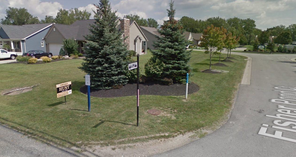The Fisher Pond Condominium complex in Amherst. (Google Maps)