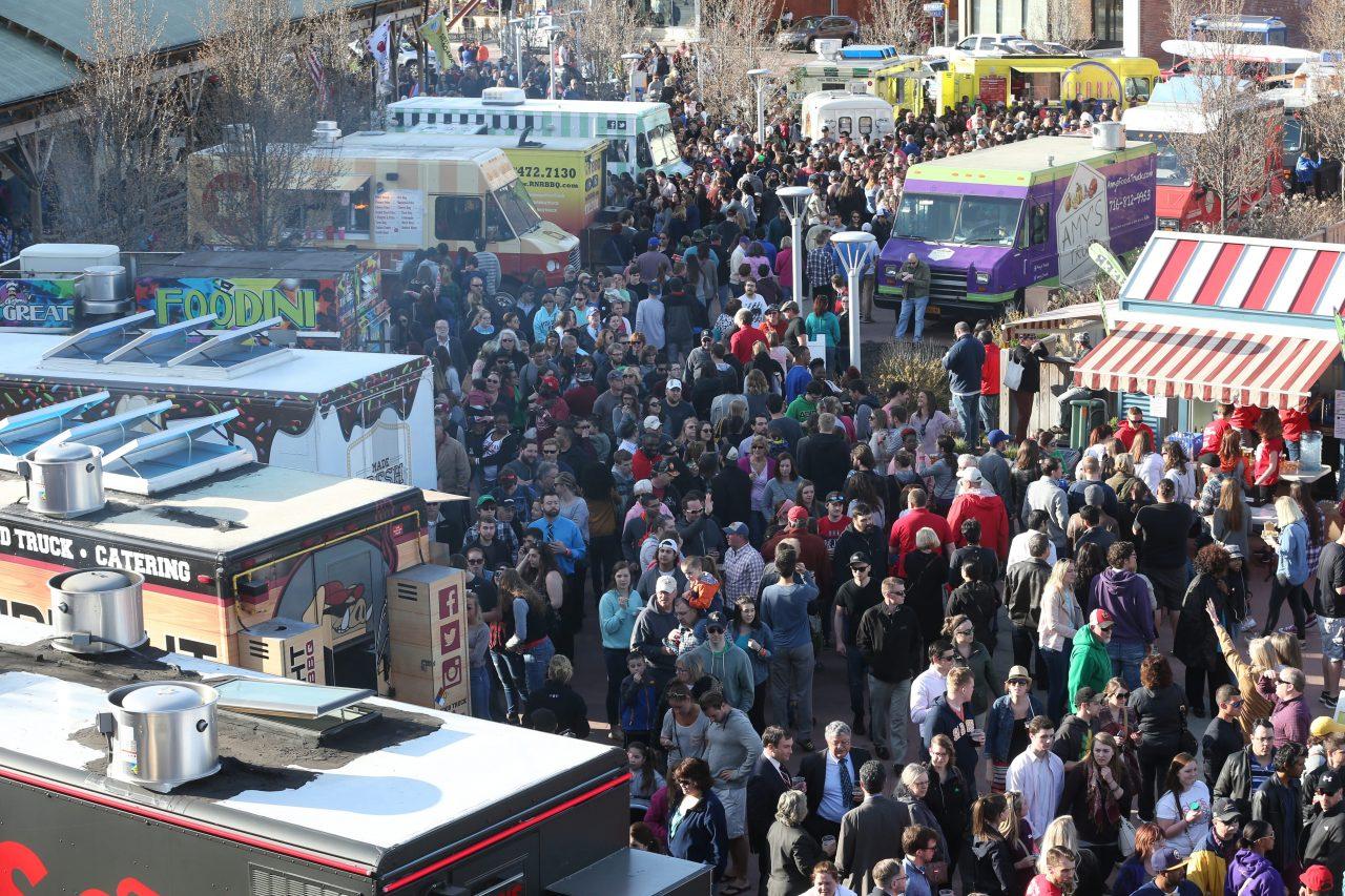 Food Truck Tuesday returns to Larkin Square on April 23. (Sharon Cantillon/News file photo)