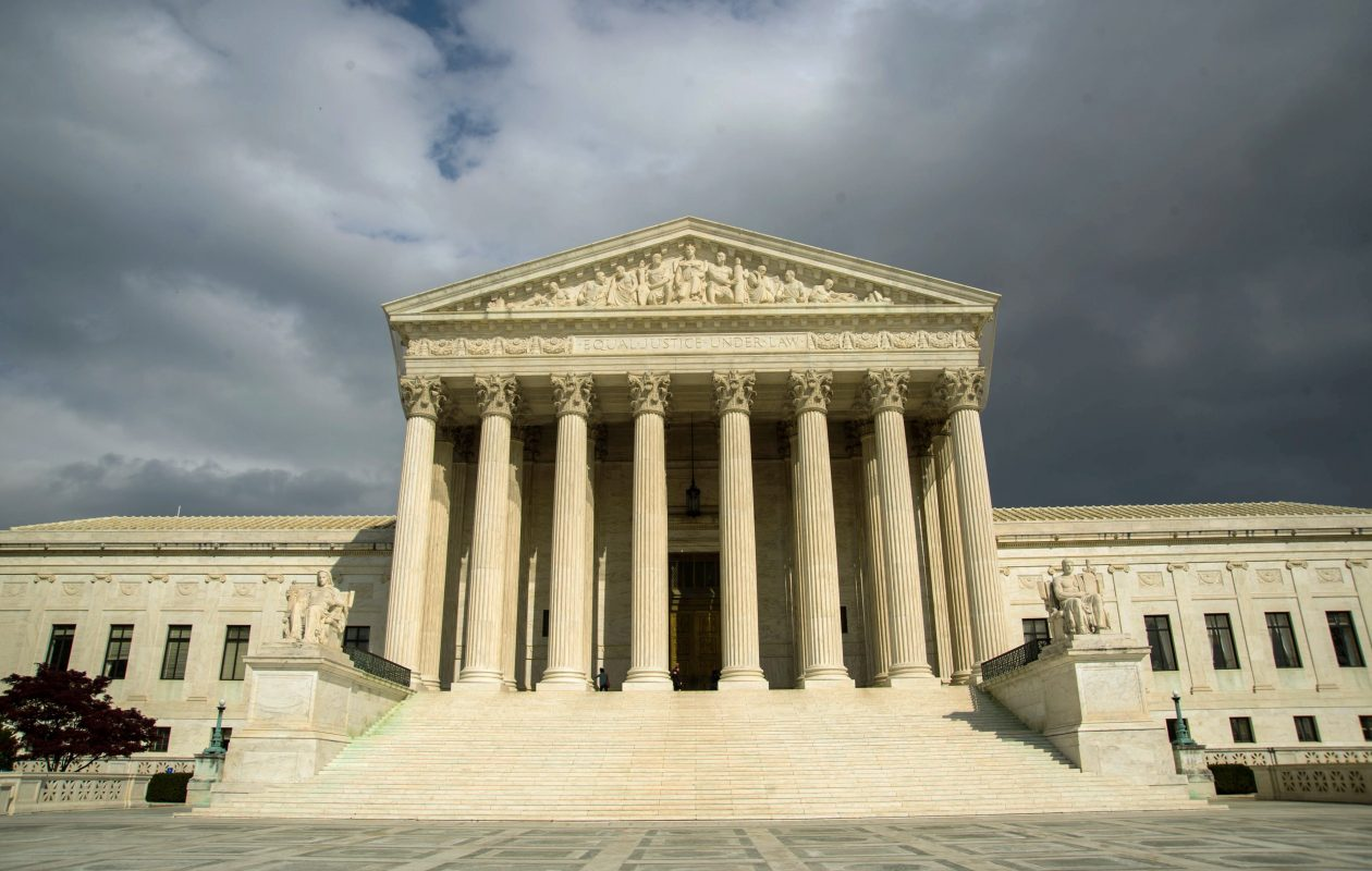 The US Supreme Court Building in Washington, D.C. (Photo by KAREN BLEIER / AFP)        (Photo credit should read (KAREN BLEIER/AFP/Getty Images)