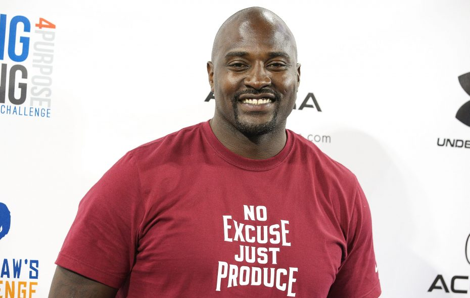 Marcellus Wiley.  (Imeh Akpanudosen/Getty Images)