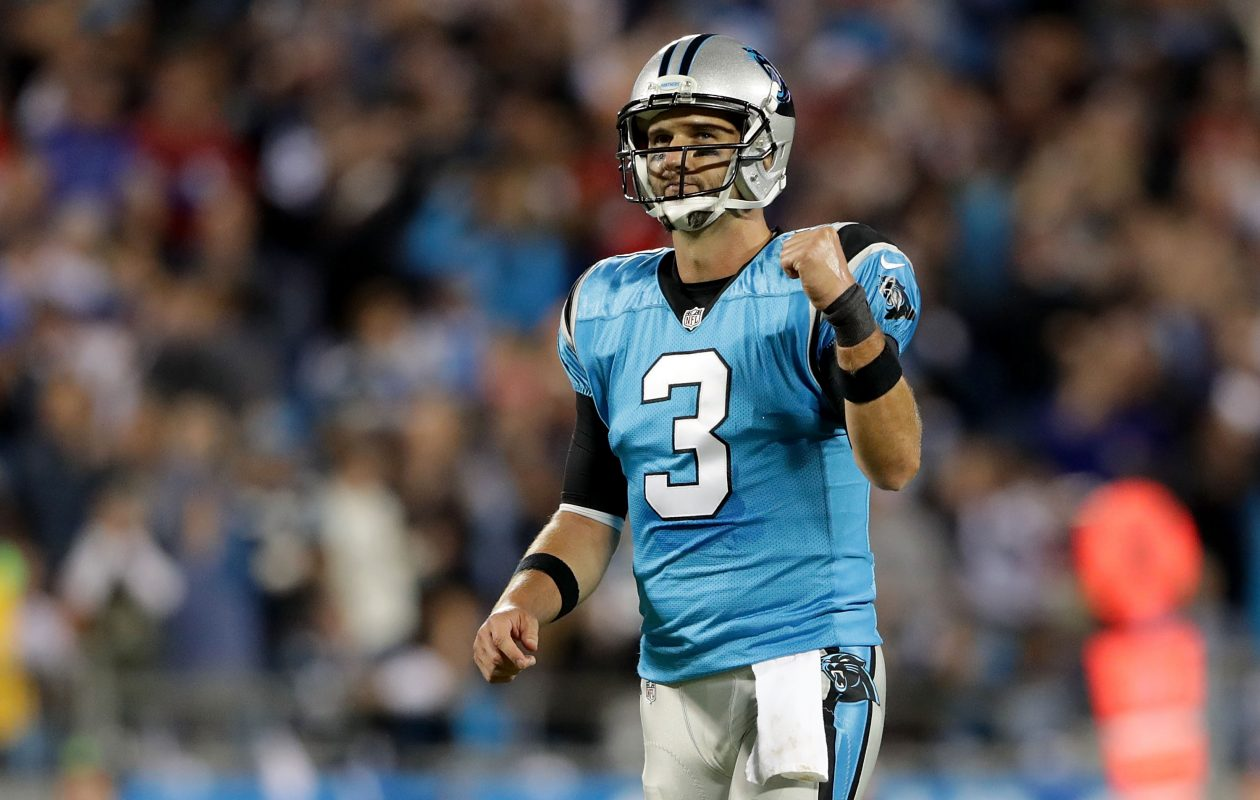 Former Panthers quarterback Derek Anderson  (Getty Images)