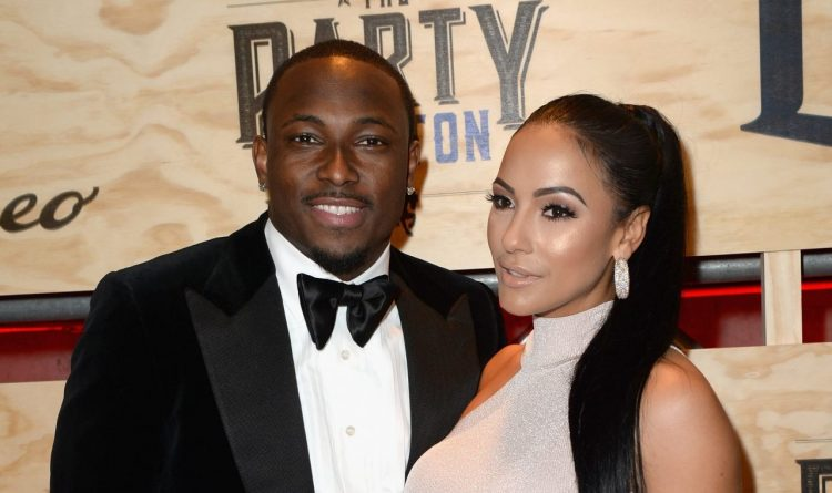LeSean McCoy and Delicia Cordon at the 13th Annual ESPN The Party in 2017. (Getty Images for ESPN)