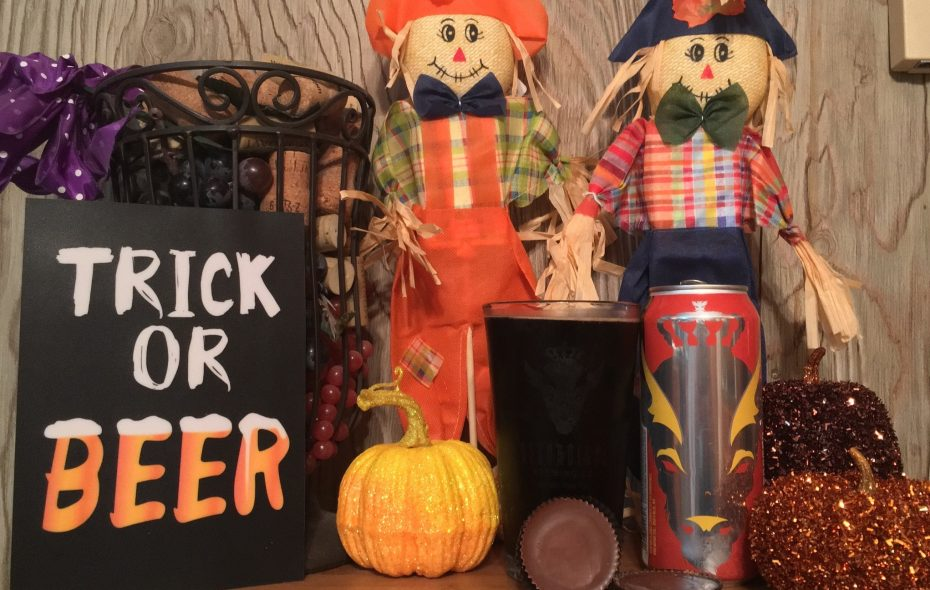 Local beers can pair especially well with sweet Halloween treats. Photo by Brian Campbell)