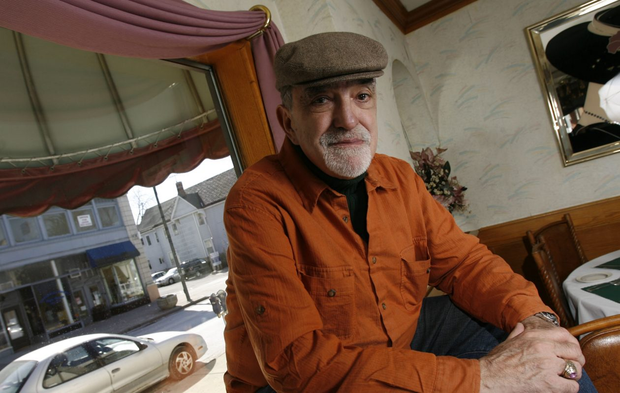 Joey Giambra, pictured in this 2008 photo, has  been a chronicler of the area's exceptional Italian-American jazz life for decades. His new book focuses on musician Sam Noto. (Sharon Cantillon/Buffalo News file photo)