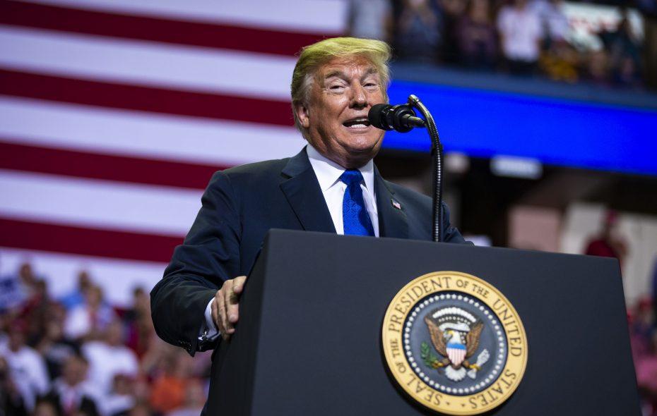 President Trump. (Al Drago/New York Times file photo)