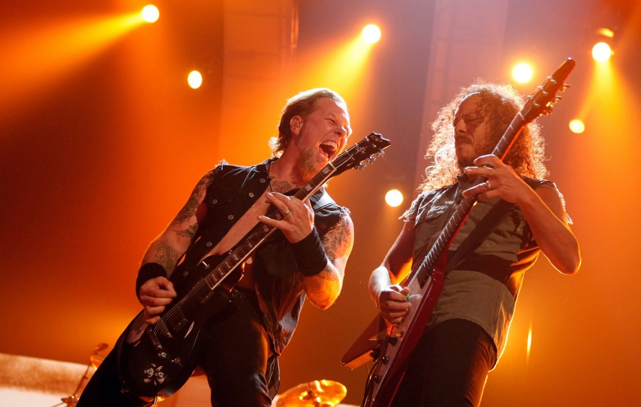 Metallica's 'serious riffage' will be on display in Buffalo this weekend. (Getty Images)