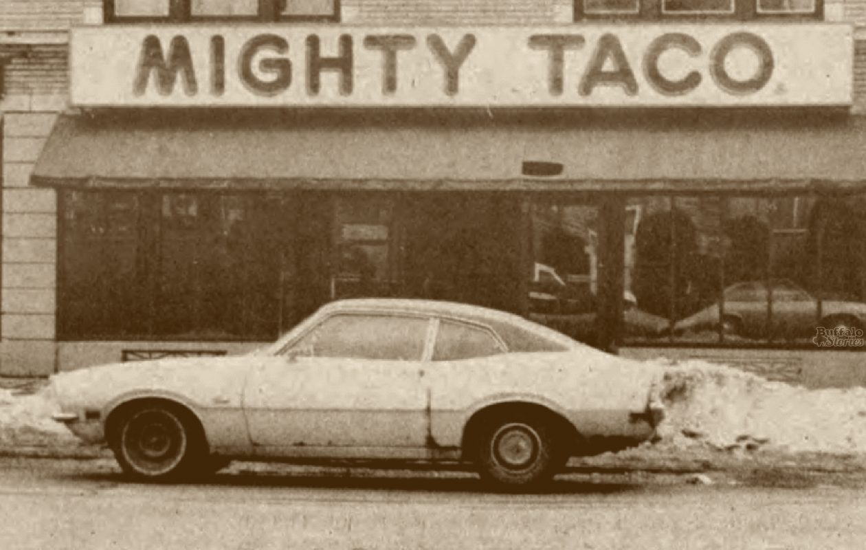 The Hertel Avenue location, of Mighty Taco pictured in 1986.