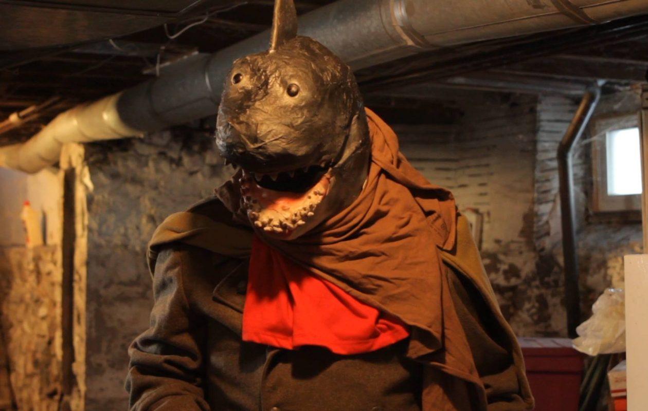 Sam Qualiana's comedy 'Post Apocalyptic Commando Shark' has its world premiere on Nov. 2 at the Buffalo Dreams Fantastic Film Festival.