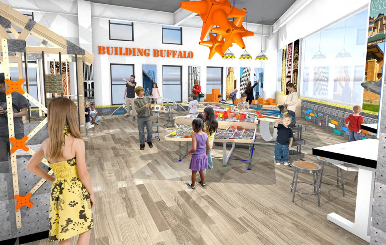 The new Explore & More children's museum at Canalside features an array of exhibits and activities for kids.