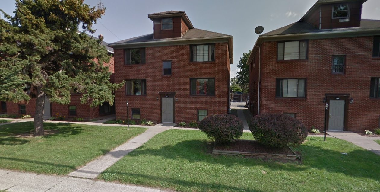 Nicholas Tzetzo sold the Ridge Road Apartments in Lackawanna to a Lockport buyer. (Google Maps)