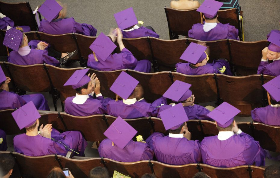 Forty-seven percent of graduates who went on to college said they had to take a remedial course in at least one subject.  (Derek Gee/News file photo)