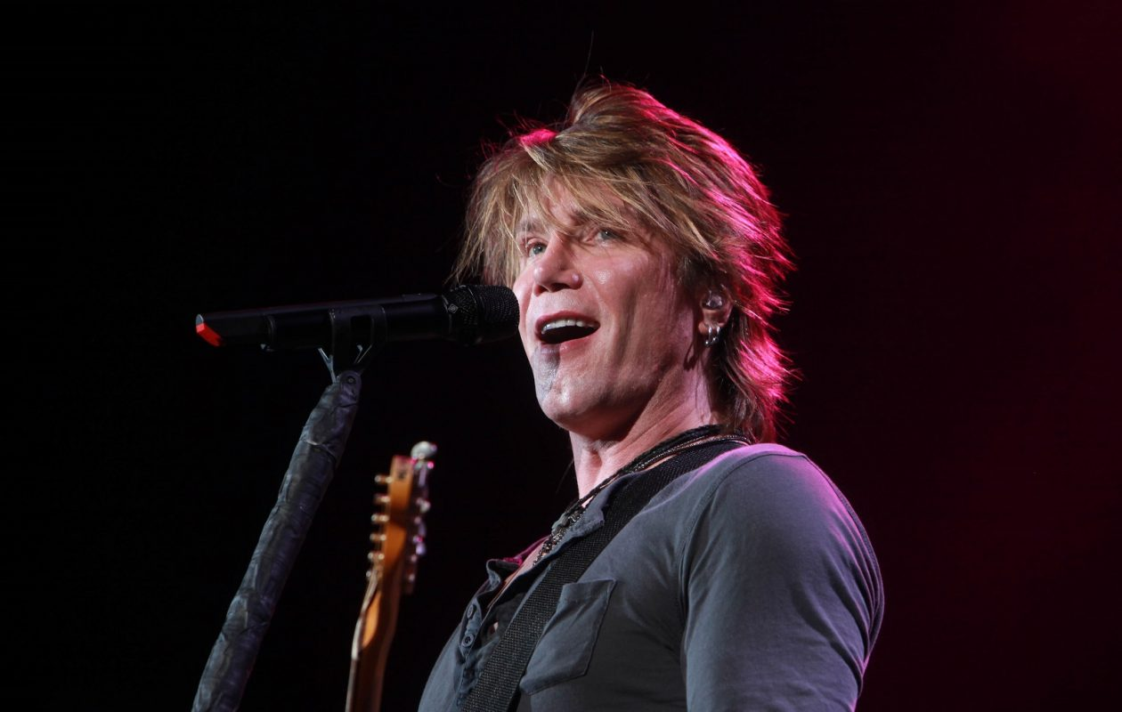 The Goo Goo Dolls have made a habit of coming  home to Western New York to perform. Here John Rzeznik is on stage in 2010 at Darien Lake Performing Arts Center. (Sharon Cantillon/Buffalo News)