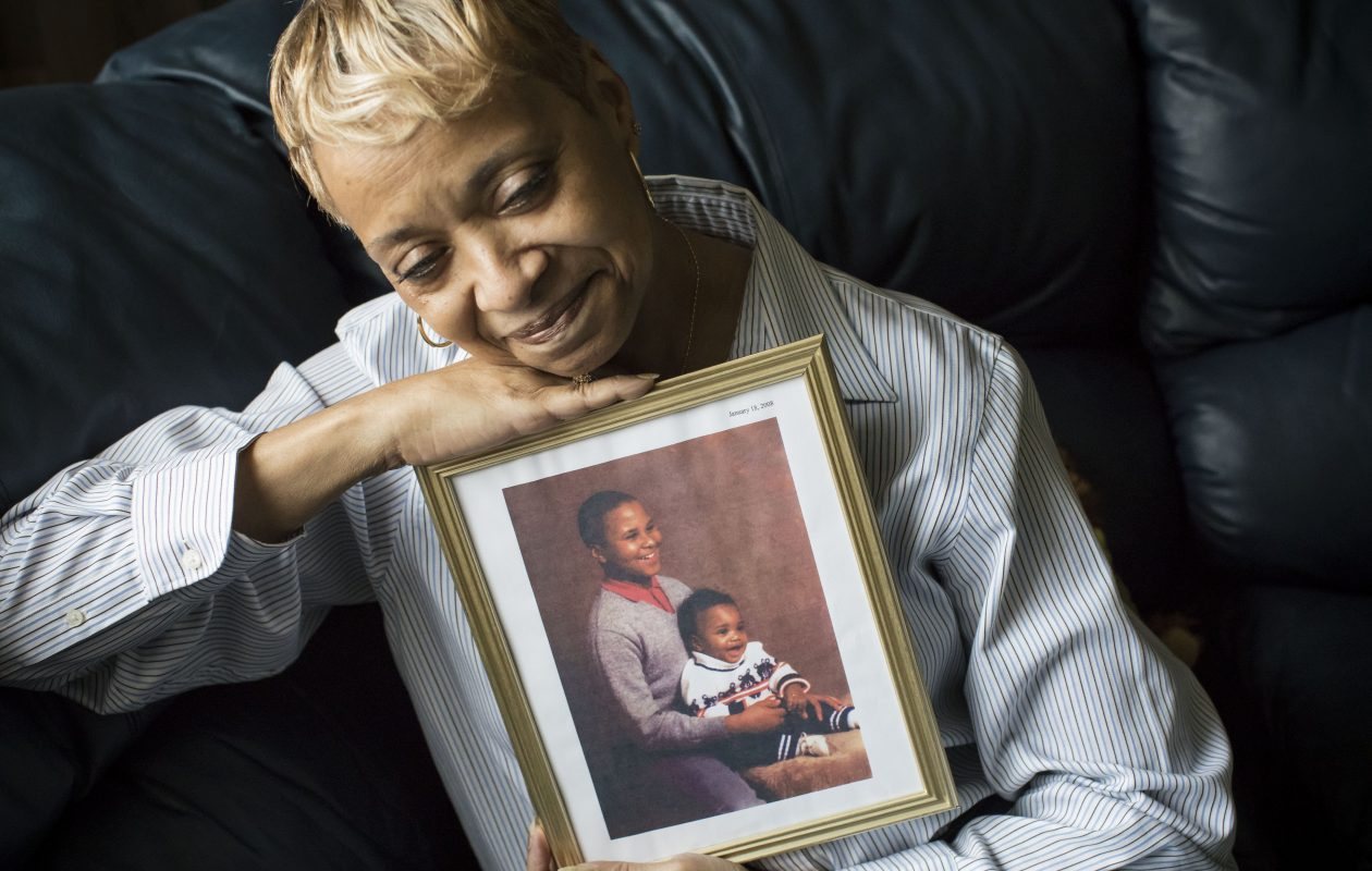 Sandra Green joined PEACE Inc. in 2007 after losing two sons to homicide. (Derek Gee/News file photo)