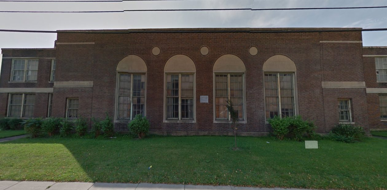 Former P.S. No. 75 on Buffalo's East Side is being targeted for conversion into low-income housing. (Google)