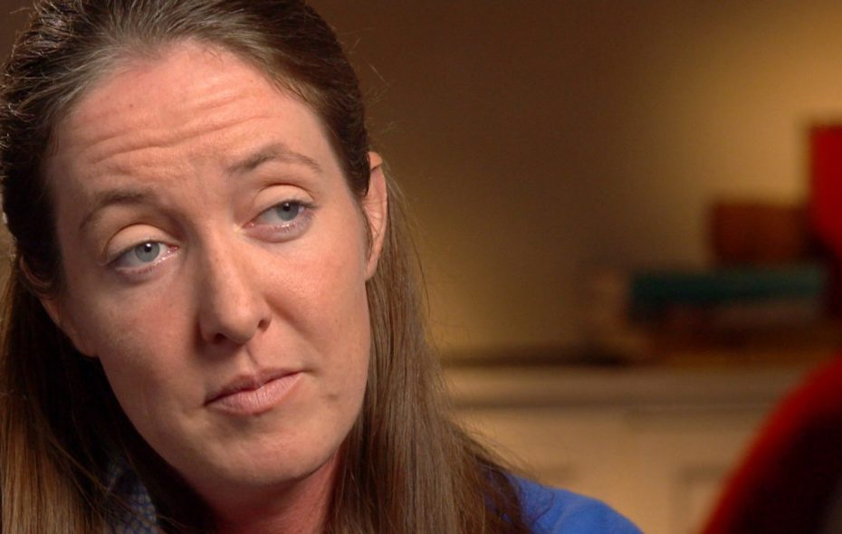 """Siobhan O'Connor, the former administrative assistant to Buffalo Bishop Richard J. Malone. (Photo courtesy of """"60 Minutes"""")"""