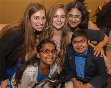 Gala at Hotel @ The Lafayette on Thursday, Oct. 11, 2018, was a benefit for Suneel's Light Foundation, a local not-for-profit organization created to raise money for research for treatments and a cure for Duchenne muscular dystrophy.