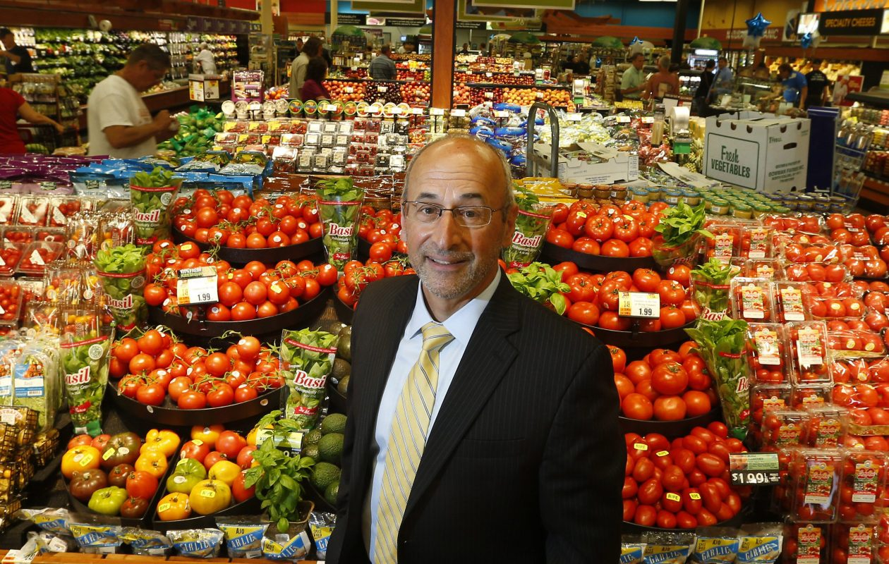 Frank Curci will remain as the CEO of Tops Markets as it emerges from bankruptcy.   (Mark Mulville/Buffalo News file photo)