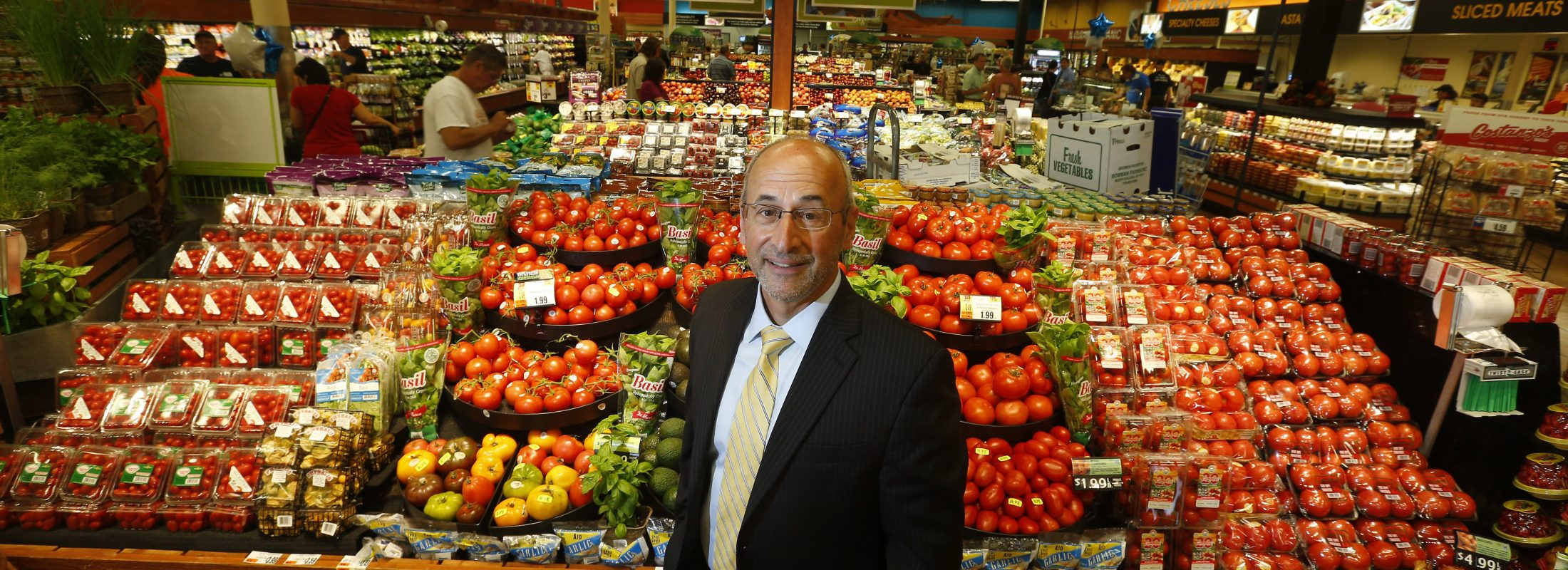 Frank Curci, Tops chairman and CEO, sees a bright future for the grocery chain. (Mark Mulville/News file photo)