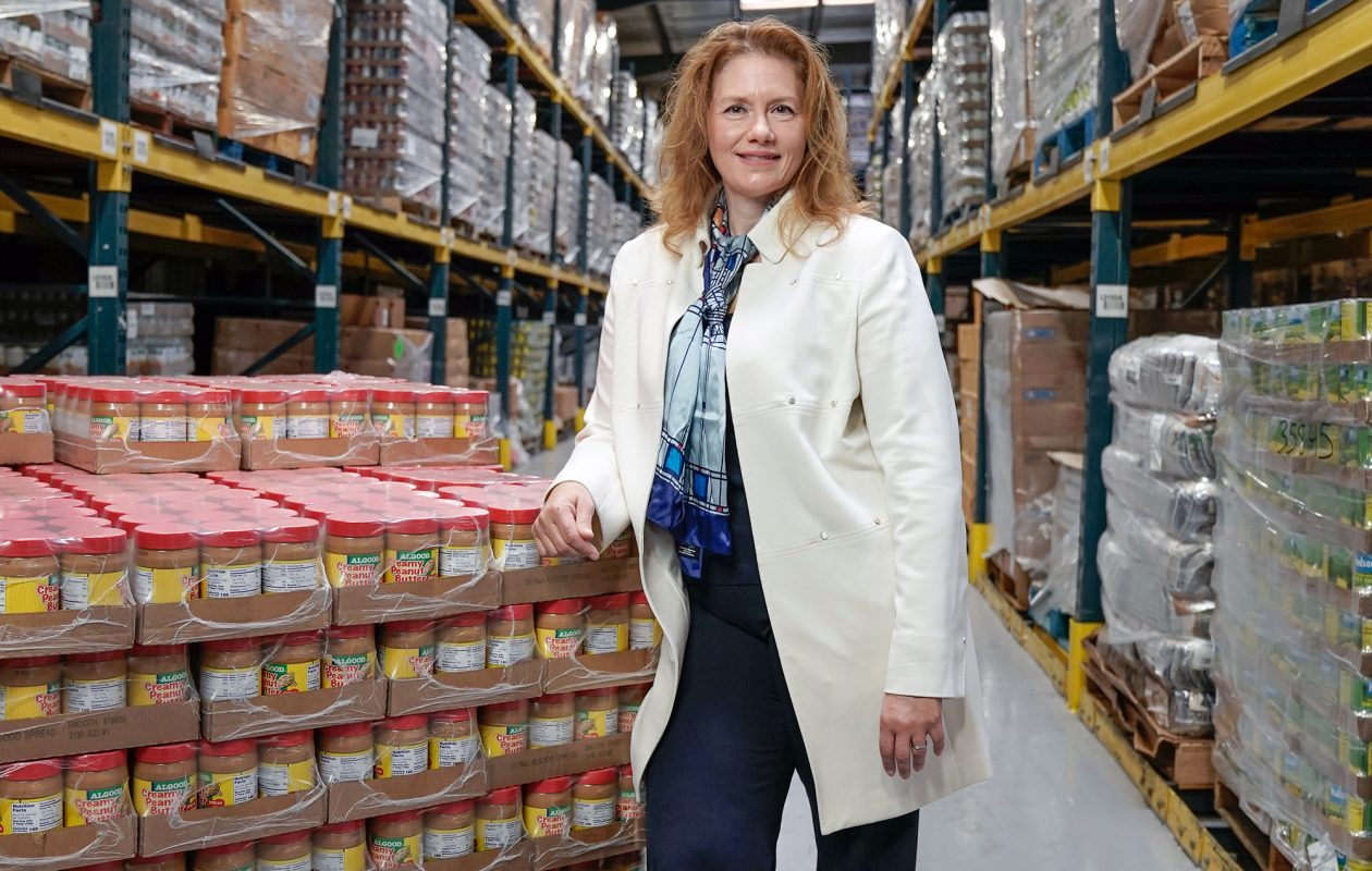 Tara Ellis is the CEO of the Food Bank of WNY. (Dave Jarosz)