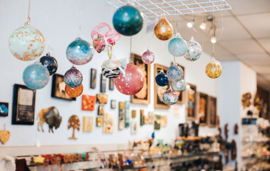 Thin Ice, a longtime gift store on Elmwood, carries locally made and themed gifts. (Katie Friedman)