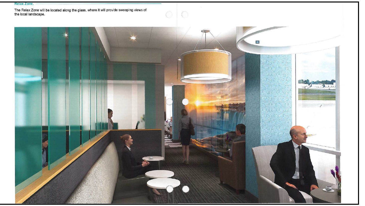 Airport to again offer business lounge – but 'Club BUF' name may change