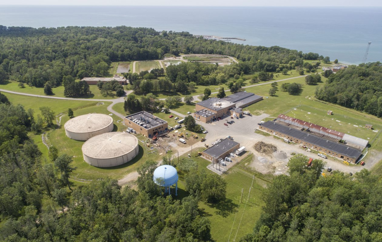 The Erie County Water Authority facility in Derby provides drinking water to most of southern Erie County. (Derek Gee/News file photo)