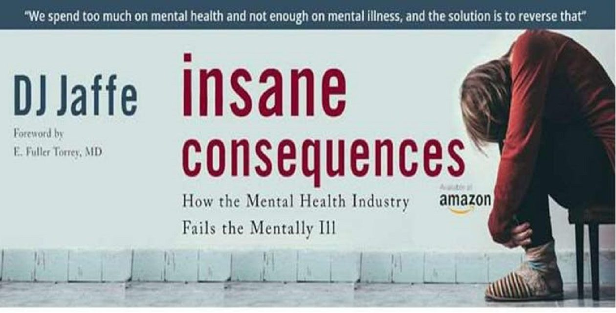"The author of ""Insane Consequences: How the Mental Health Industry Fails the Mentally Ill"" will give a free presentation Nov. 1 at Daemen College in Amherst."