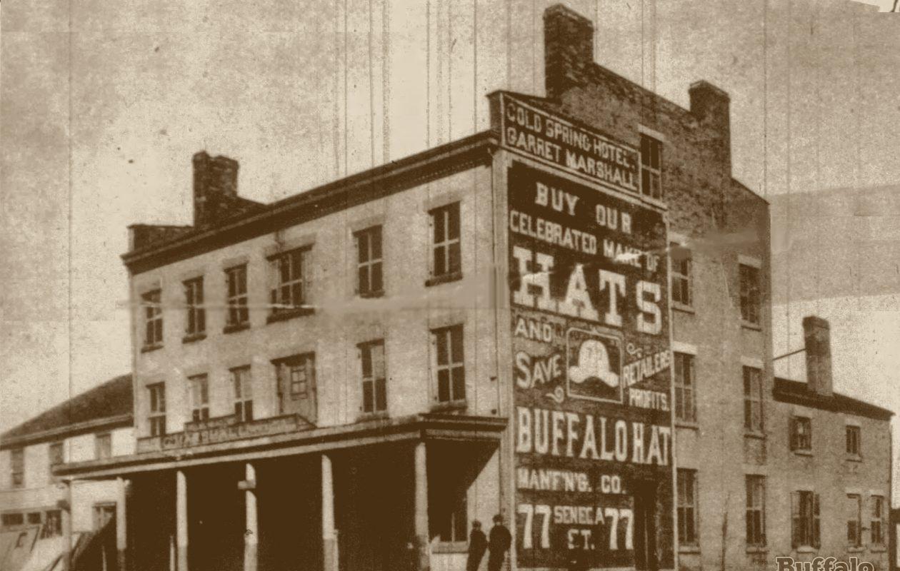Cold Spring Hotel, Main & Michigan, circa 1875.