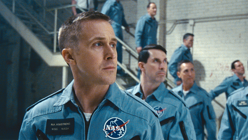 """Ryan Gosling plays Neil Armstrong in the new drama """"First Man."""""""