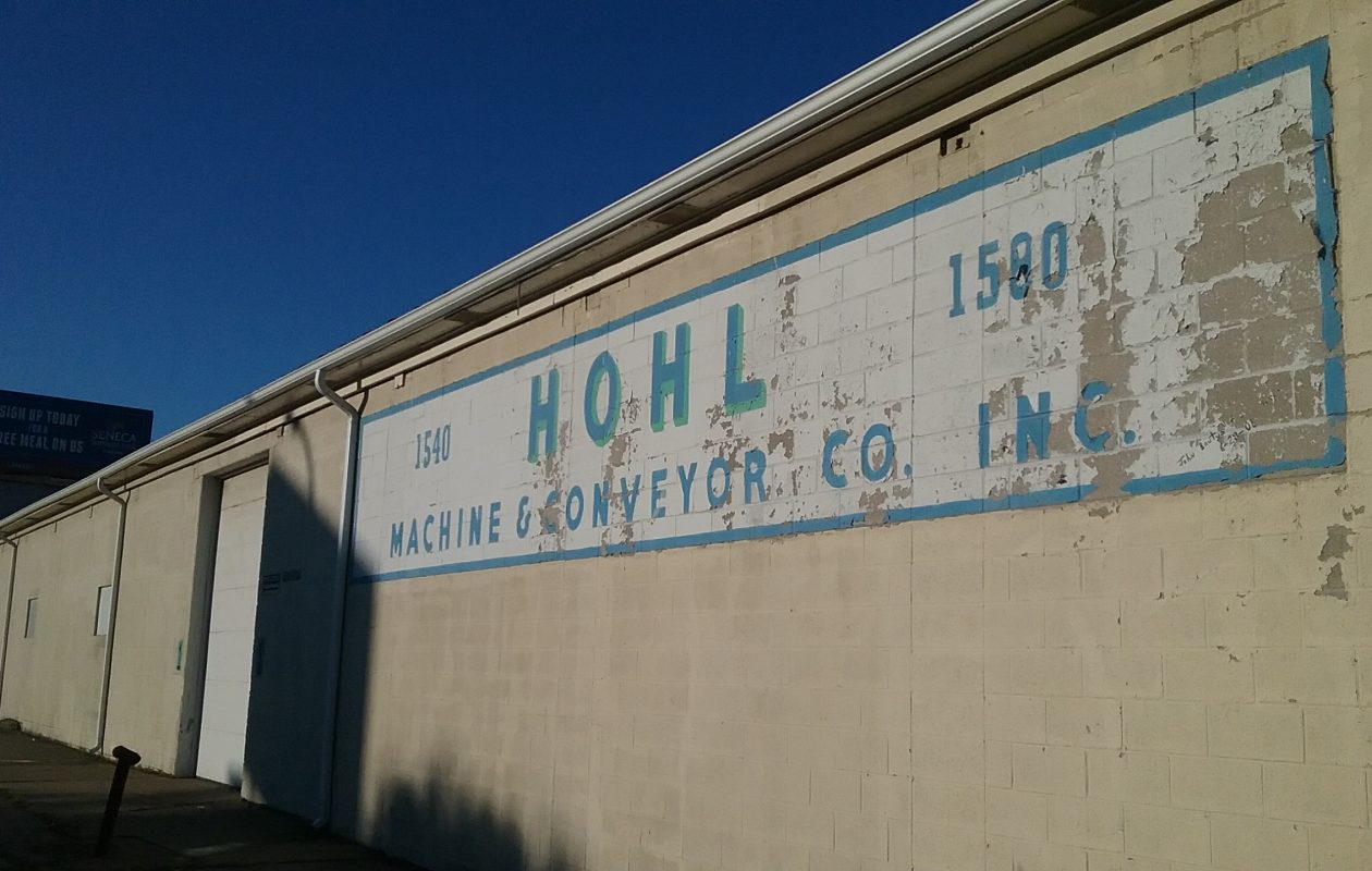 Niagara Street business revives as Hohl Machinery LLC. (Matt Glynn/Buffalo News)