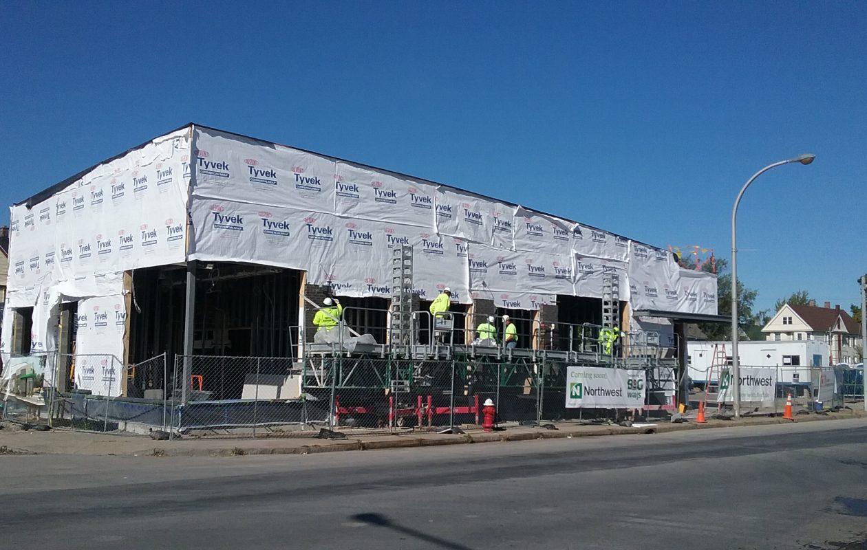 Northwest Bank is targeting early December to open a new branch on Jefferson Avenue. (Matt Glynn/Buffalo News)