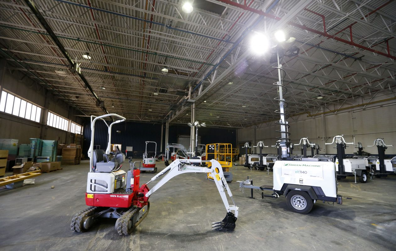 American Axle's former industrial complex on the East Side was revitalized by Ontario Specialty Contracting and its affiliates. (Mark Mulville/Buffalo News)