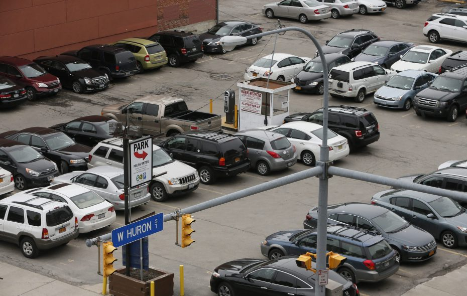 Concerns are rising about an anticipated mismatch of supply and demand when it comes to downtown parking. (Derek Gee/News file photo)