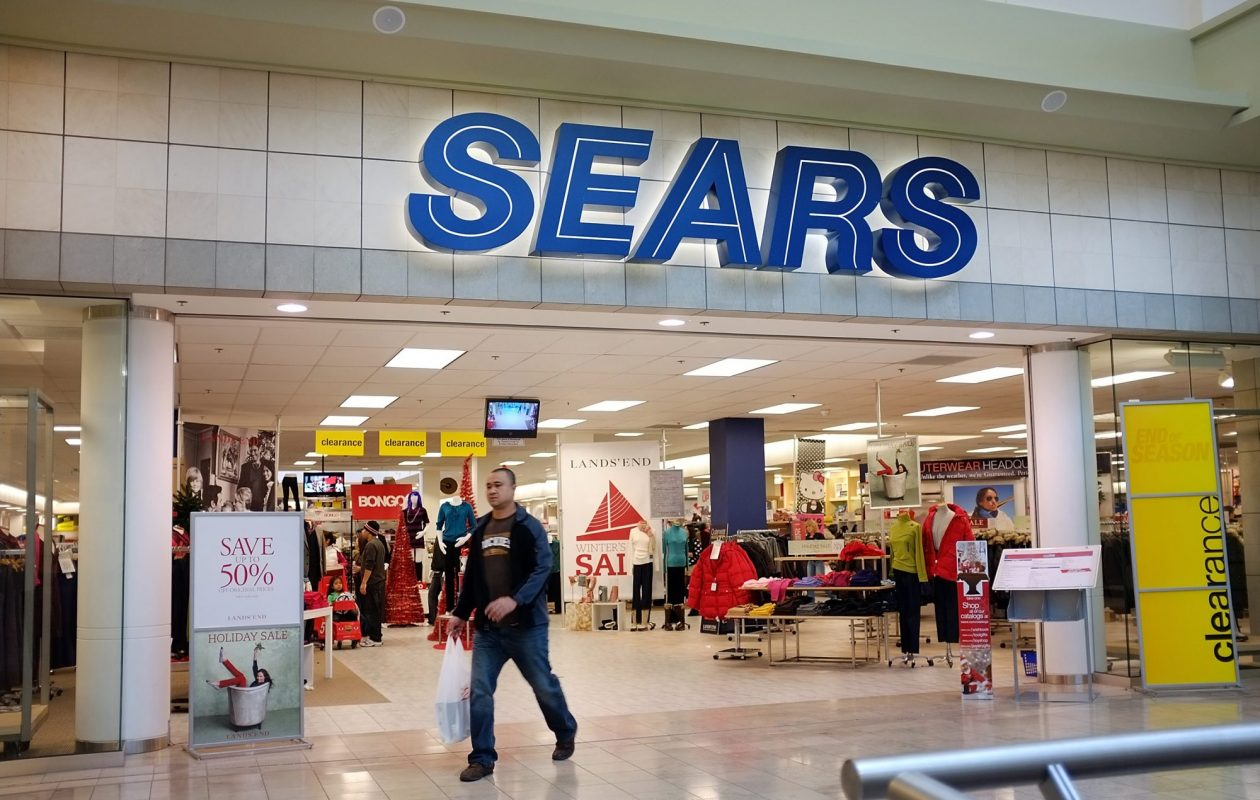 One area Sears and three Kmarts are set to close Jan. 31. (Getty Images photo)