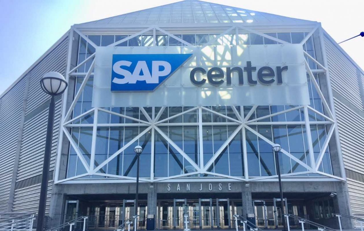 Game 3 of the Sabres' Western road trip is at SAP Center in San Jose, commonly called the 'Shark Tank.' (Mike Harrington/Buffalo News)