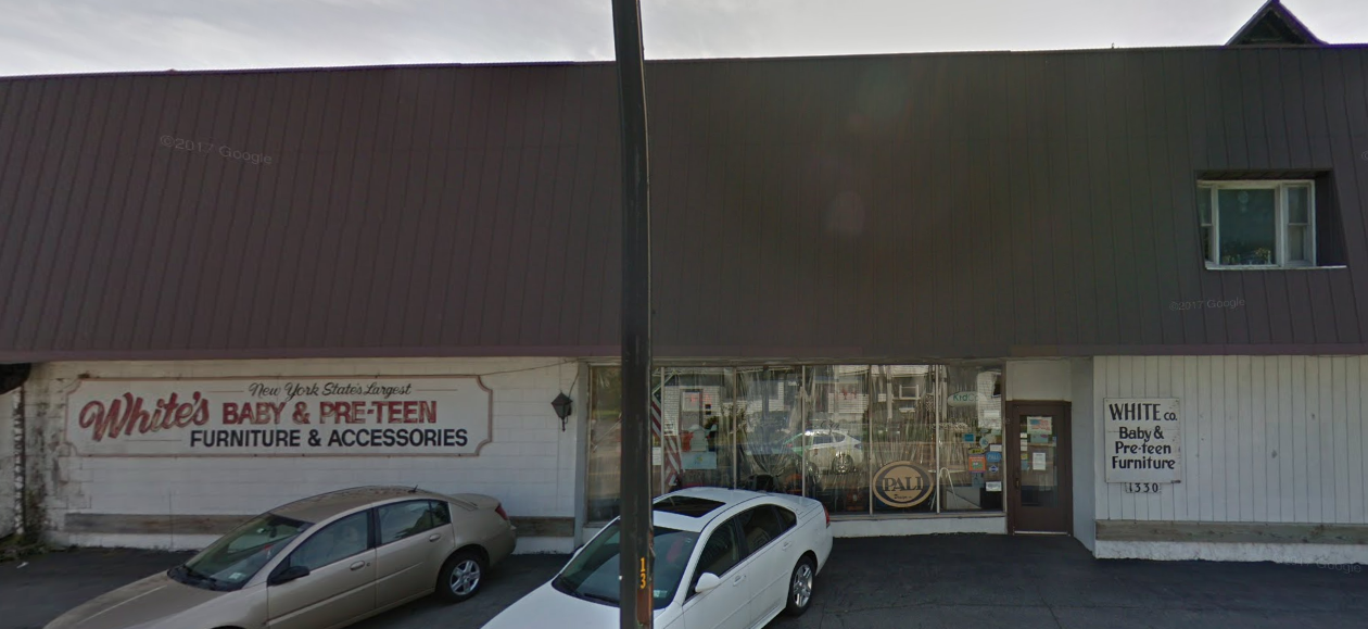 White's Baby & Teen Furniture, 1330 Kenmore Ave., will close. (via Google Maps)