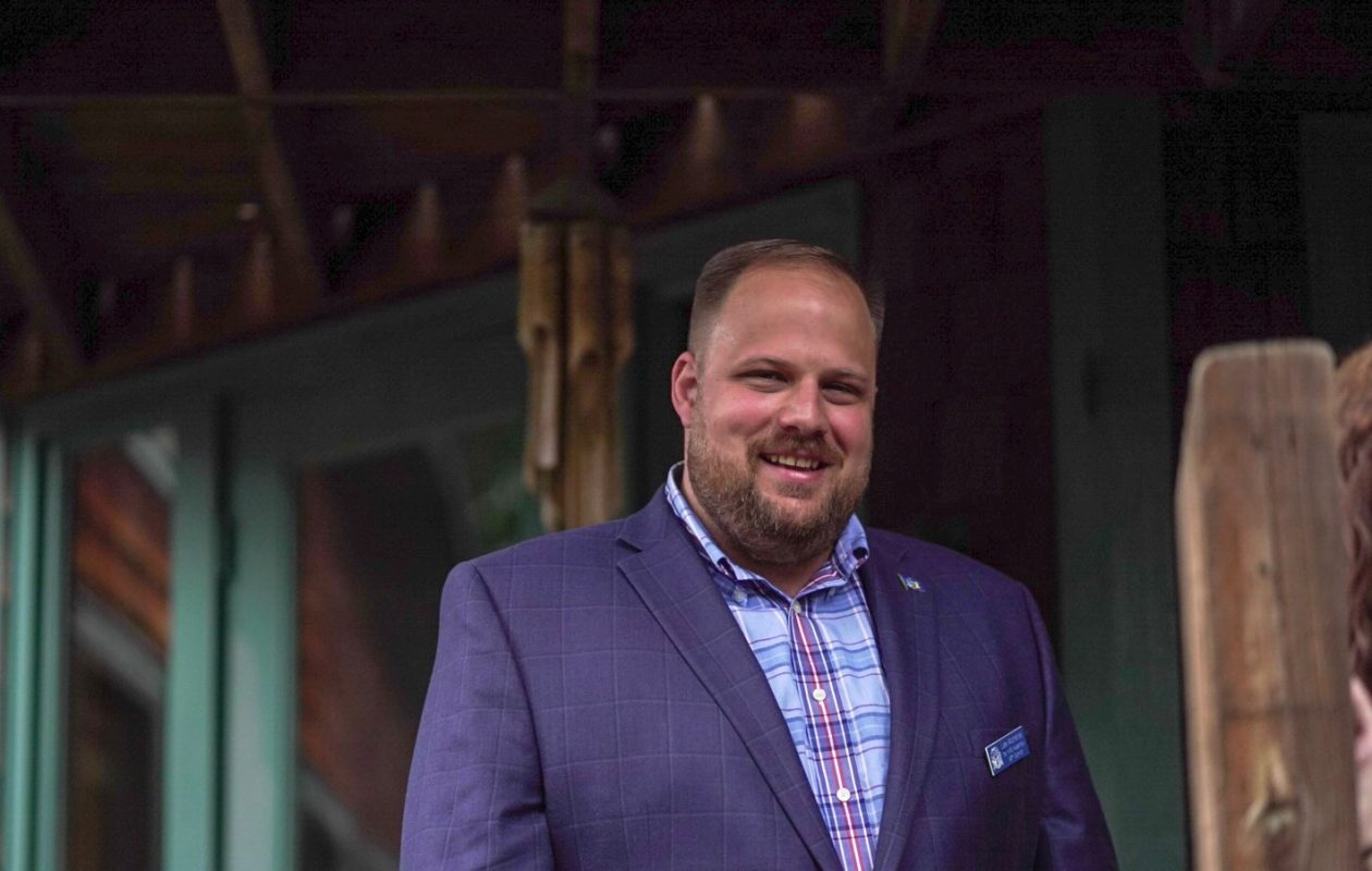 Luke Wochensky, candidate for the 147th Assembly District in 2018. (Photo courtesy of campaign)