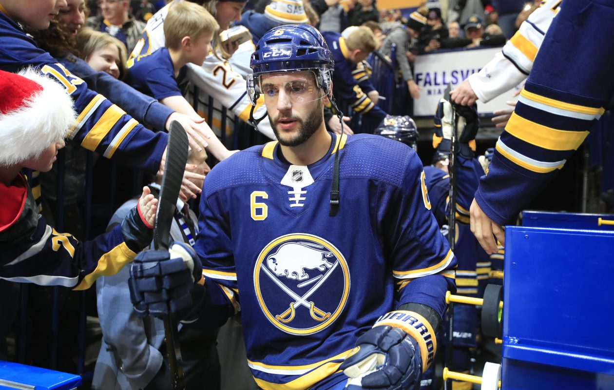 Marco Scandella has one goal among five points in 23 games this season. (Harry Scull Jr./News file photo)