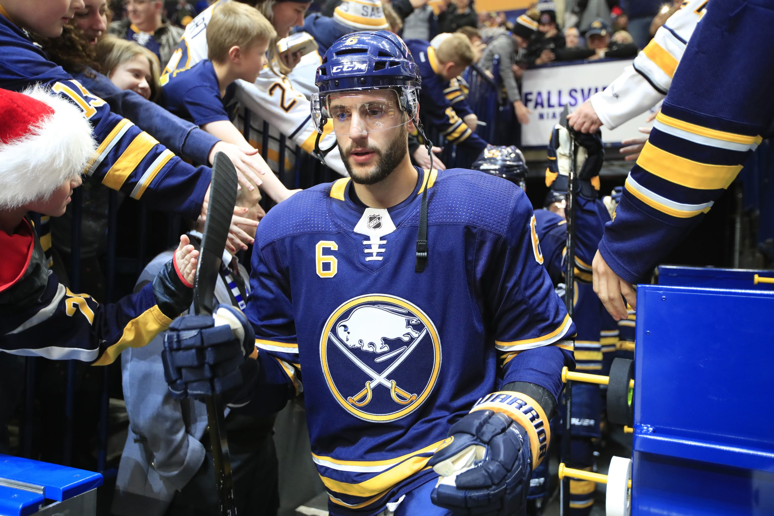 Pilut won't play, Scandella a game-time decision for Sabres