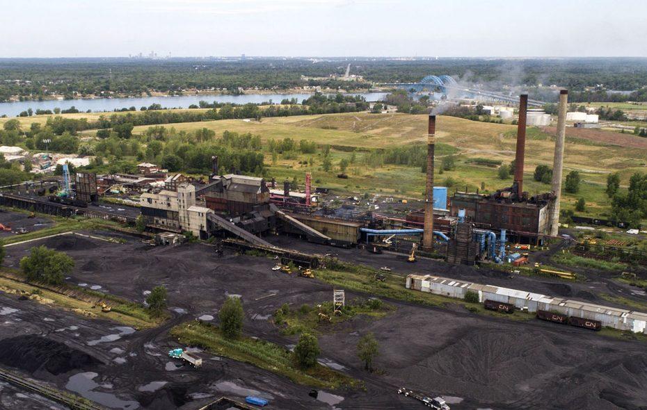 The Tonawanda Coke facility on River Road shut down for good in October. (Derek Gee/News file photo)