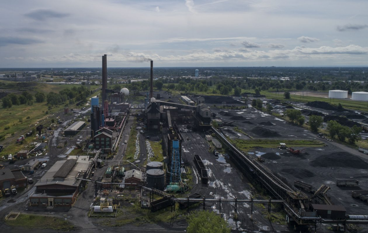 A potentially toxic stew of environmental pollutants remains at the 106-acre Tonawanda Coke site on River Road in the Town of Tonawanda. (Derek Gee/News file photo)