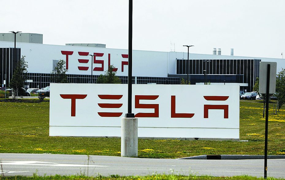 Tesla said its South Park Avenue factory employs 730 people between it and its partner, Panasonic.  (News file photo)