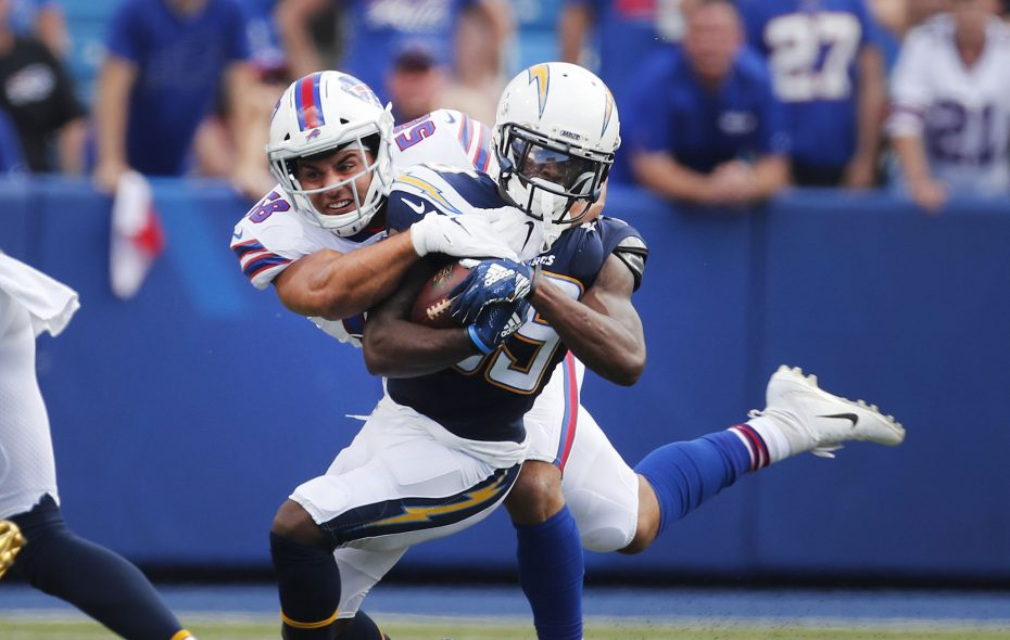 half off efeb4 8b81d With Tremaine Edmunds out, Matt Milano has low-volume ...