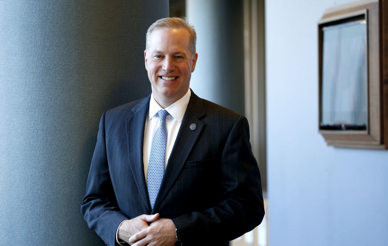 Mark Sullivan, the CEO of Catholic Health, has built his career at the organization. (Robert Kirkham/Buffalo News)