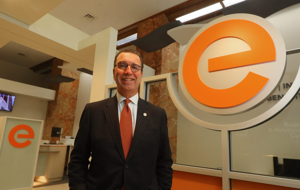 David Nasca, president and CEO of Evans Bank, said the bank was looking for a 'signature community investment.' (John Hickey/Buffalo News)