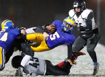 Cleveland Hill dominated Letchworth-Warsaw 54-6 Friday night at Clarence High School.